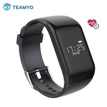 Teamyo R1 Smart пульсометр SmartBand passomete фитнес-трекер Smart Браслет для iOS телефонах Android