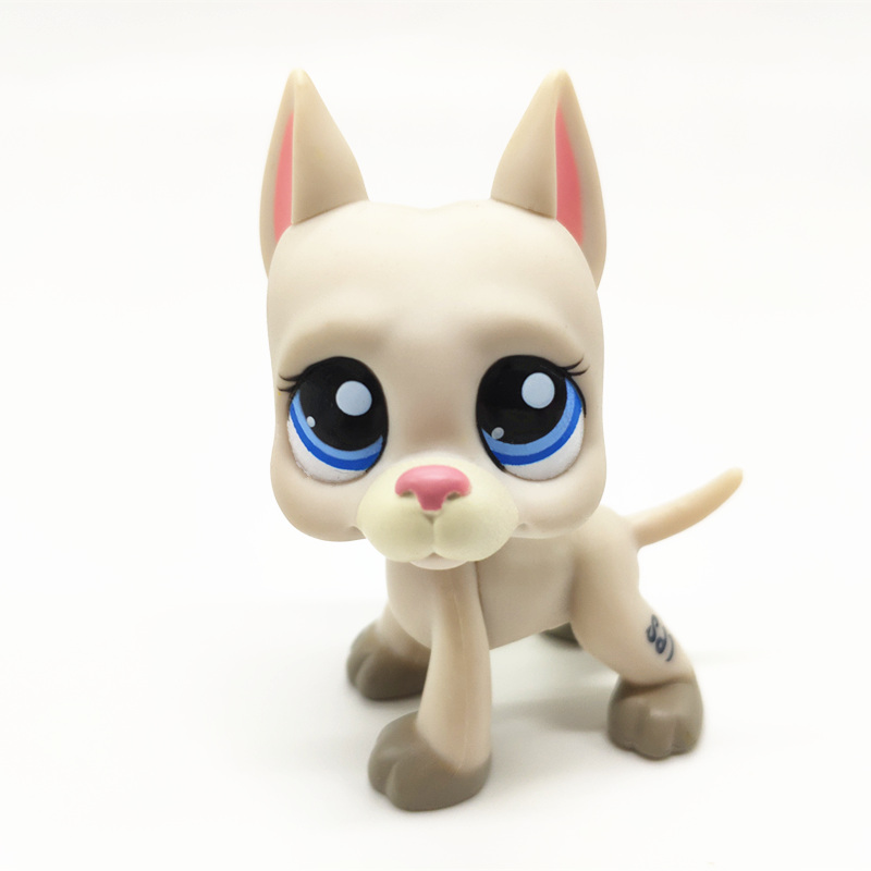 LPS Pet Shop Toys Cute Short Hair Cat Great Dane Rare Full Set Of Classic Pet Dog Cosplay Action Figure Children Gift in Action Toy Figures from Toys Hobbies