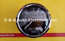 1 stück 100% Marke Neue GPS Geschwindigkeit Diagramm 85mm Geschwindigkeitsmesser 30 Knoten Für Boot Automobil Mit GPS Antenne Schwarz farbe