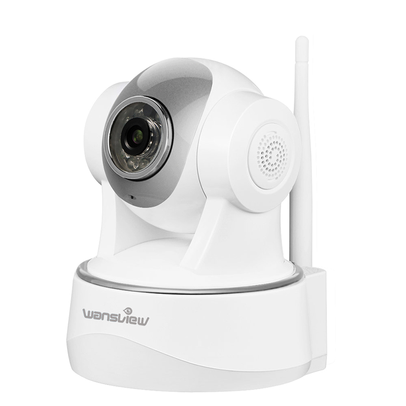 Wansview Q2 2.0MP 1080P IP Camera WiFi Security Surveillance Wireless Indoor Camera 30fps Alarm Monitor Pan/Tilt Two-Way Audio syarin baby monitor hd 720p 1 0mp ip camera wireless wifi two way audio motion detection alarm wifi camera tf card slot pan tilt