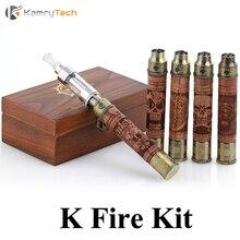 Новый вид, Череп X Fire, E Fire, Protank 2, Электронные сигареты, механические, Эго твист испаритель ручка для дыма E Eig, деревянный комплект X8110