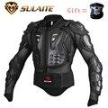 Genuino 2016 Nueva SULAITE Marca Motociclismo Armadura Protector ATV Motocross Body Ropa Chaqueta de Protección Equipo de Protección