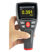 Portable Digital Car Film Iron Coating Thickness Gauge Meter Color LCD 0-1500um Non-magnetic Coating Painting Measure Tools