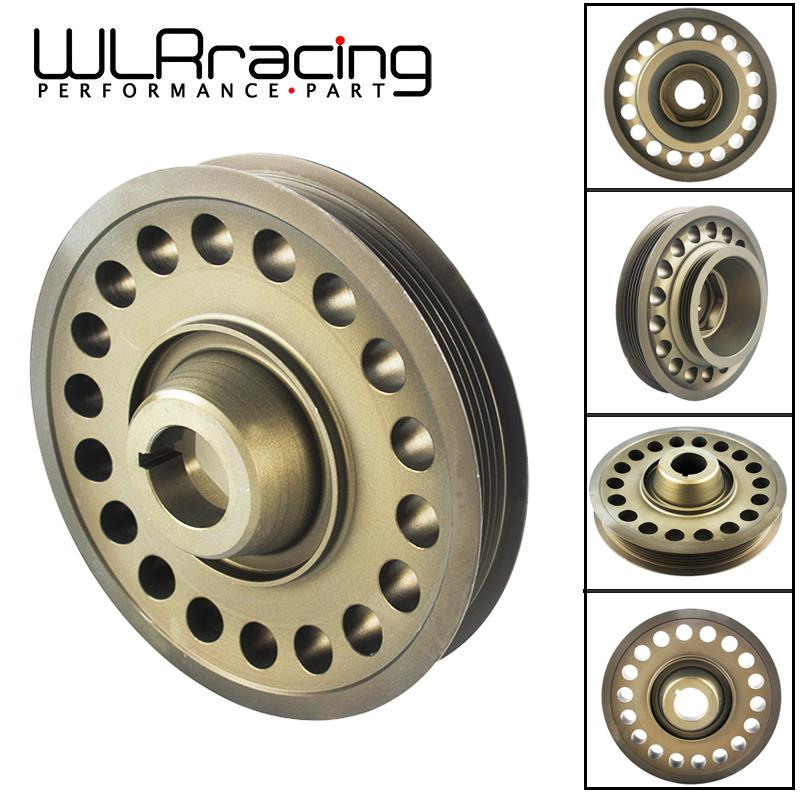 US $36 52 7% OFF|WLR RACING Light Weight Aluminum Crankshaft Pulley OEM  Size For 93 01 Honda Prelude H22 VTEC WLR CP012-in Belts, Pulleys, &  Brackets