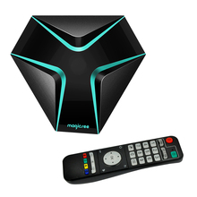 Magicsee Iron Android 6.0 TV BOX Amlogic S905X Quad Core 2GB 16GB Smart TV Box HDMI 4K Set Top Box Wifi OTA Update Media Player