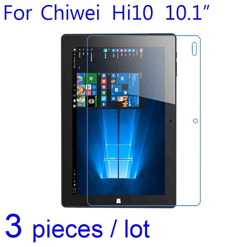 3pcs/pack Clear/Matte/Nano Anti Explosion Protective Films for Chiwei Hi10 Vi10 Plus/Pro Tablet Pad Screen Protector Guard cover