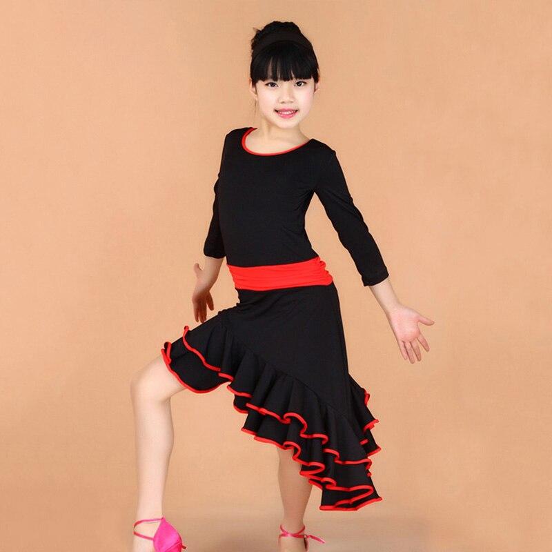 Achetez en gros robe de spectacle de danse en ligne des - Danse de salon enfant ...