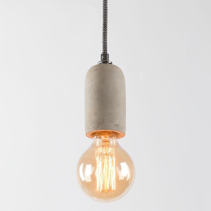 Straight cylinder cement chandelier lampshade silicone mold restaurant bar concrete gypsum resin pendent lamp handicraft mold