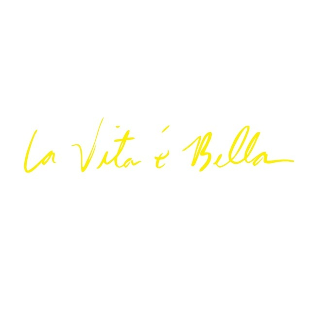 LumiParty La Vita e Bella Reflective Letters Decals Car Stickers Full Body Car Head Styling Sticker non-fading and bright r15