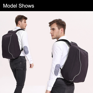 Image 5 - Tigernu moda sırt çantası Anti hırsızlık erkekler sırt çantası iş dizüstü sırt çantası kadın 14 17 inç sırt çantası seyahat Mochila Feminina