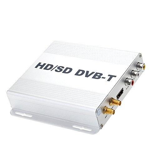 DVB-T HD SD Multi-Channel Mobile Car Digital TV Box Mini TV Analog Tuner High Speed 240km/h Strong Signal Receiver for Car usb tv tuner digital tv receiver