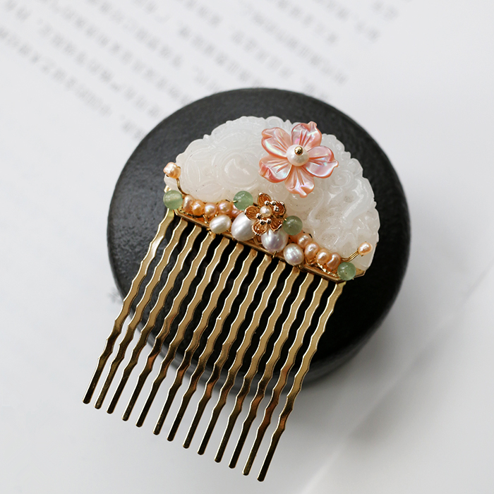 Chinese Wedding Japanese Hair Pin Stick Forks Filigree Flower Accessories