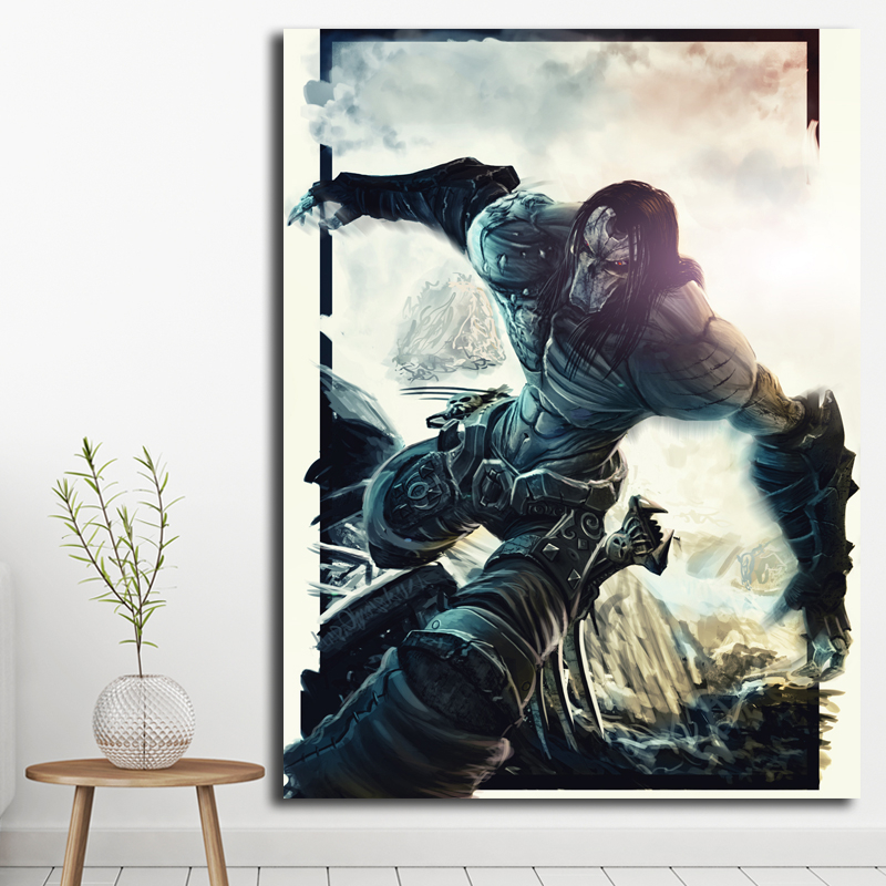 Us 57 5 Offdeath Darksiders 2 Wallpaper Art Canvas Poster Oil Painting Wall Picture Print Modern Home Bedroom Decoration Accesories Artwork In
