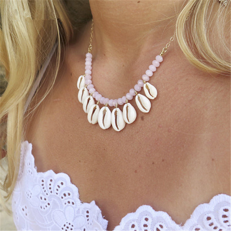 sea shell necklace (2)