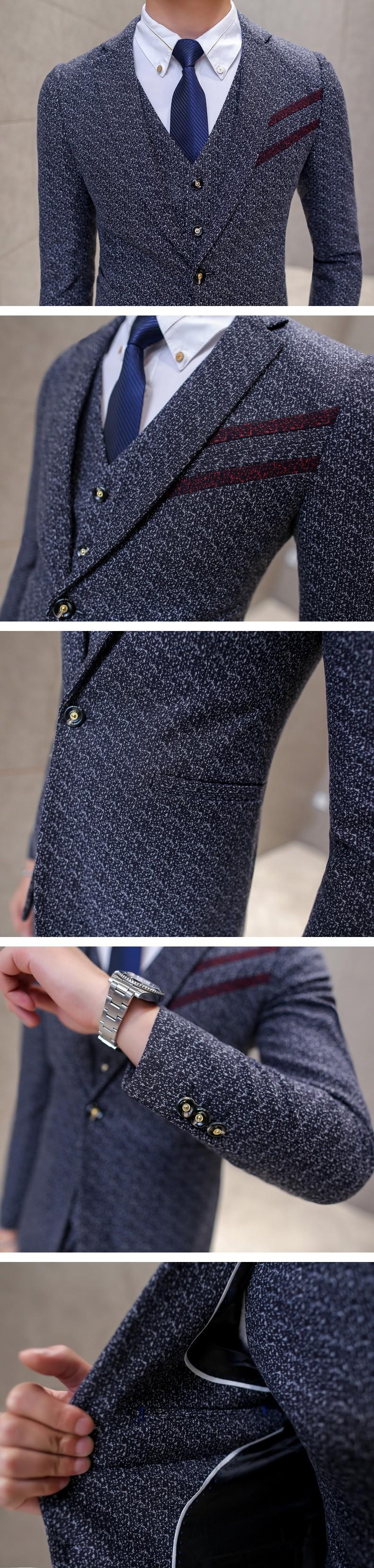 grey suits details