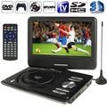 Con Películas En 3D 9.0 ''TFT LCD Digital Multimedia Portable EVD/DVD TV Analógica (PAL/NTSC/SECAM) juego USB Puertos MS Mmc