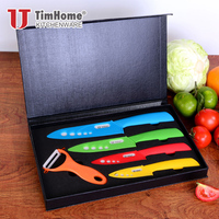 Ceramic Knife Set chef knife cooking tool with Magnetic Gift Box kitchen knives