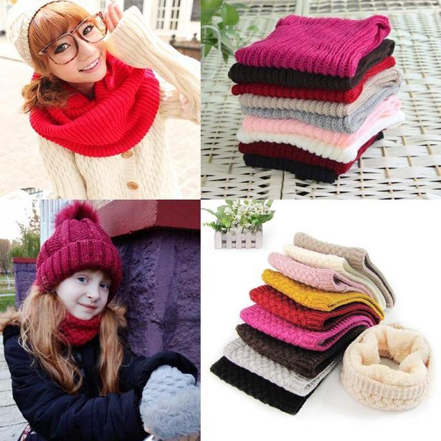 Winter Children's & Women's Cotton Neckerchief