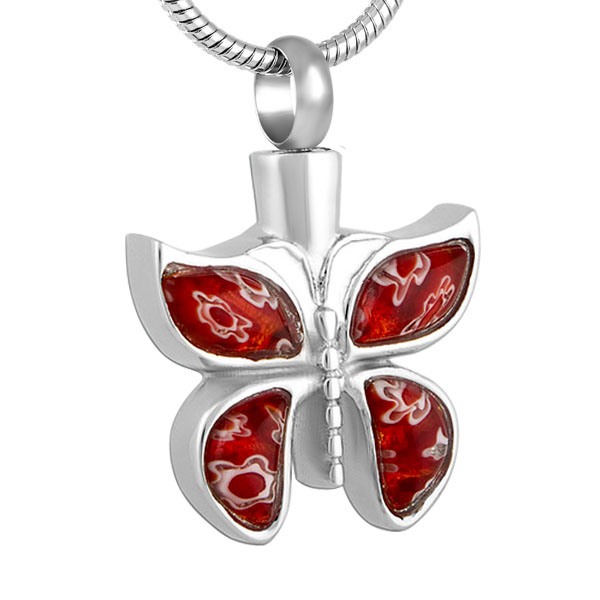 IJD8689-Red-Blue-Colorful-Murano-Glass-Cremation-Necklace-Jewelry-Ashes-Holder-Keepsake-Butterfly-Memorial-Urn-Jewelry