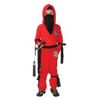 New Red Ninja Kids Child Halloween Costume Boy S Fancy Cosplay Party Dress Up Children S