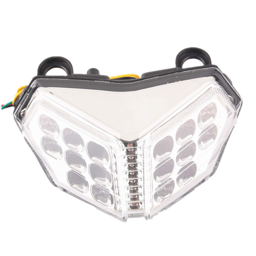 Integrated LED Turn Signals Tail Light Clear For Ducati 1098 2007-2008 848 2007-2011 Motorcycle