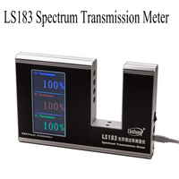 LS183 Spectrum Transmission Meter glass transmittance meter ,Coating insulation test infrared ultraviolet transmittance detector