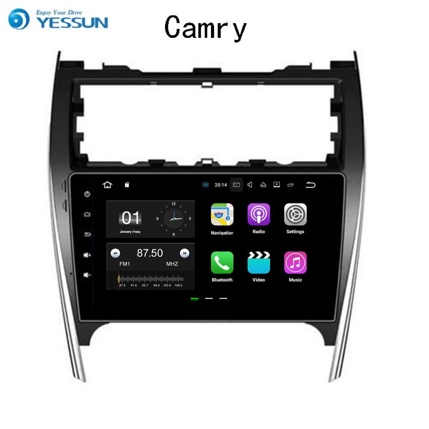 YESSUN voiture Navigation GPS Android pour Toyota Camry 2012 ~ 2017 Audio vidéo HD écran tactile stéréo lecteur multimédia pas de CD DVD