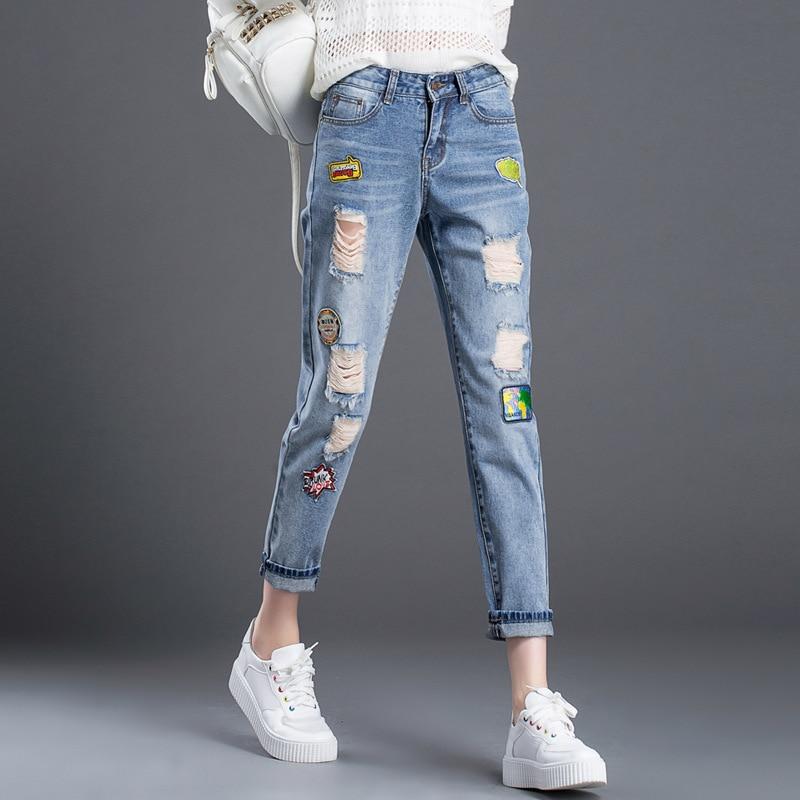 Popular Ripped Jeans Capri for Girls-Buy Cheap Ripped Jeans Capri ...