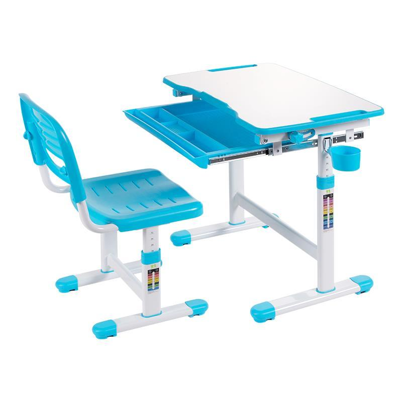 learning table and chair set can lift pupils writing desk Children anti-myopia desks multifunctional child learning desk and chair set can adjust the height of tables and chairs according to the height of children