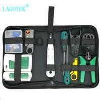 RJ45 RJ11 RJ12 CAT5 CAT5e Portable LAN Network Repair Tool Kit Utp Cable Tester AND Plier Crimp Crimper Plug Clamp PC