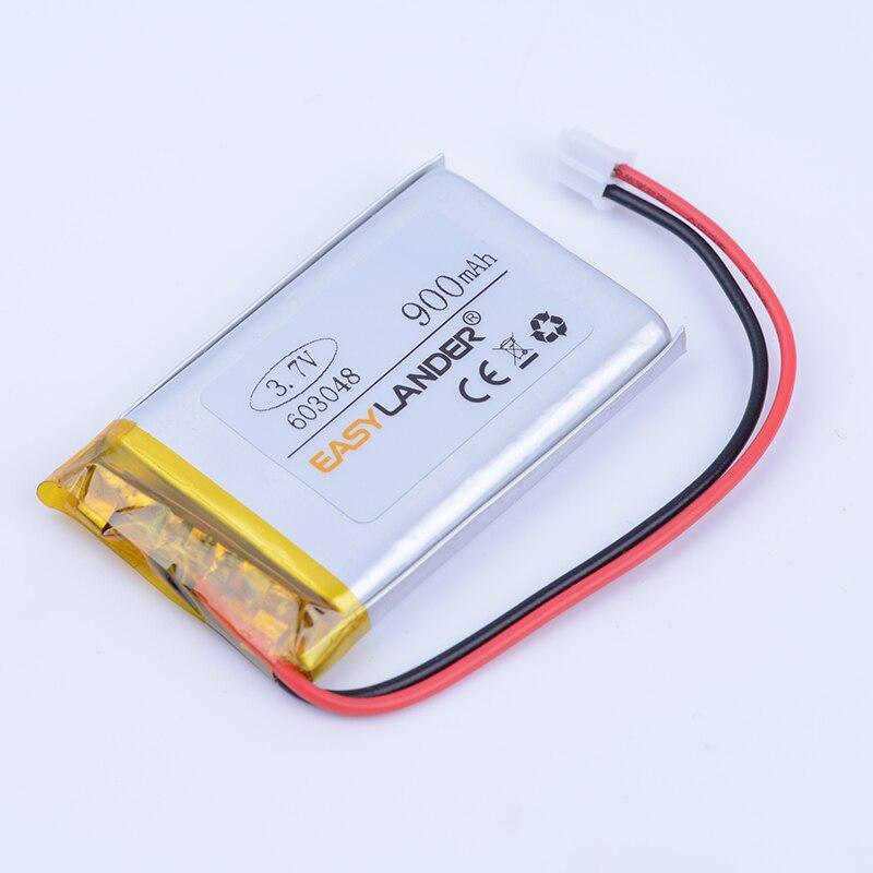 603048 3.7 В 900 мАч Перезаряжаемые литий-полимерная литий-ионная Батарея для игр Мышь M ...