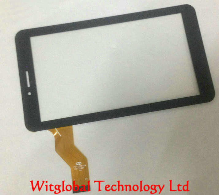 New touch Screen For 7 Irbis TX44 3G / irbis TX22 Tablet Touch Panel Glass Digitizer Replacement Free Shipping tempered glass protector new touch screen panel digitizer for 7 irbis tz709 3g tablet glass sensor replacement free ship