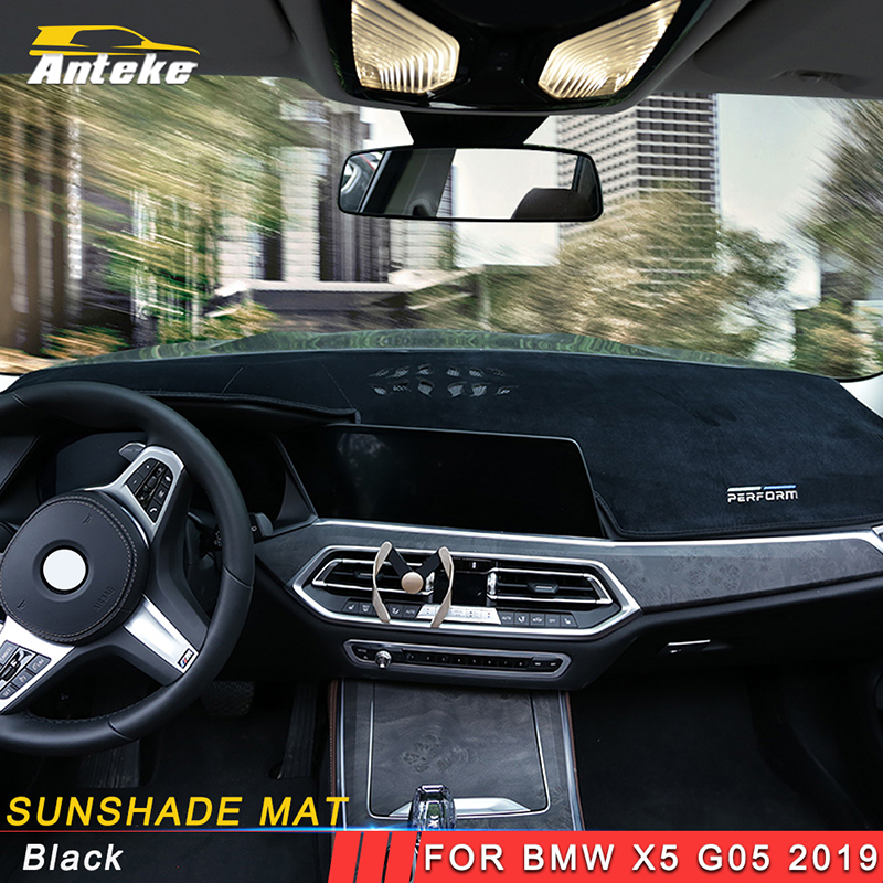 Us 96 9 Anteke For Bmw X5 2019 Car Styling Dashboard Cover Sunshade Mat Pad Cushion Cover Interior Accessories In Automotive Interior Stickers From