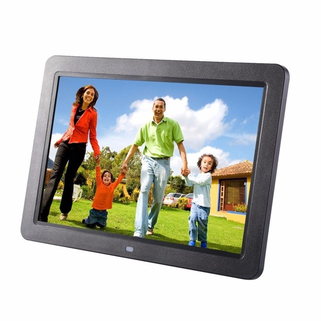 12 inch hd tft led wide screen muitifunctional digital picture frame support wireless remote view pictures - Wireless Picture Frame