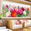 2015 Trends Ultra HD 5d Diy Diamond Embroidery Flowers Dmc Colorful Top Design Diy Diamond Painting