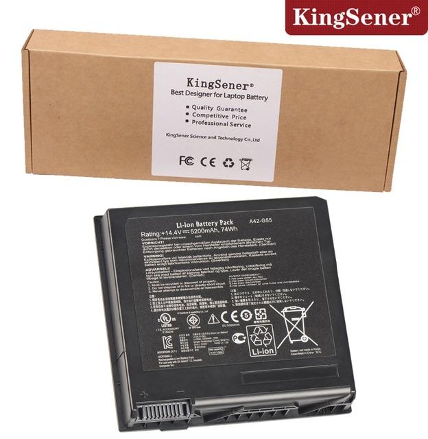 Coreia do celular genuine original nova bateria para asus g55 a42-g55 G55V G55VM Série G55VW A42-G55 14.4 V 5200 mAh Taxa de 2 Anos garantia