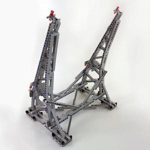 Image 5 - 407 pièces Star MOC War millénium jouets Falcon présentoir Vertical Compatible avec 05132 75192 ultime modèle de collection