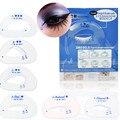 6Pcs/set Eyeshadow Card Model Stencil Eye Makeup Auxiliary Tool Practical Eye Shadow Applicator