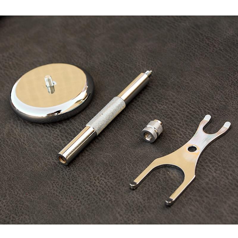 Men Razor Holder Stainless Shaving Brush Stand Safety Razor Razor Holder 15.2cm long size Razor & Brush not including 3
