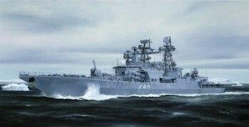 Trumpeter model 04531 1/350 Russian Udaloy II class destroyer Admiral Chabanenko plastic model kit