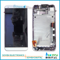 for HTC One M7 801e 801n LCD display screen with touch screen digitizer with frame assembly full sets ,100% gurantee test ok