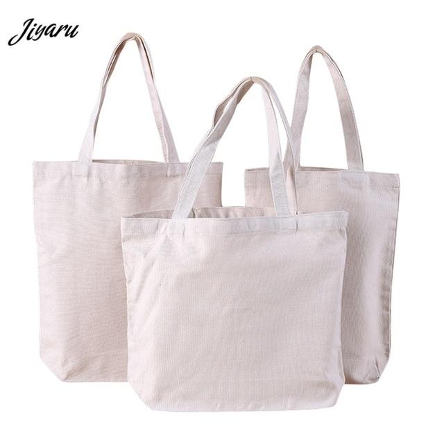 Canvas Tote Women Women Cotton Shopping Bag Reusable Shopping Bags