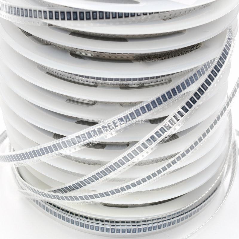 50 шт., резистор 2512 SMD, 1 Вт, 1%, 0,1 Ом, R100, R010, R020, R050, R100, R200, R220, R330, R470, R500, 1R00