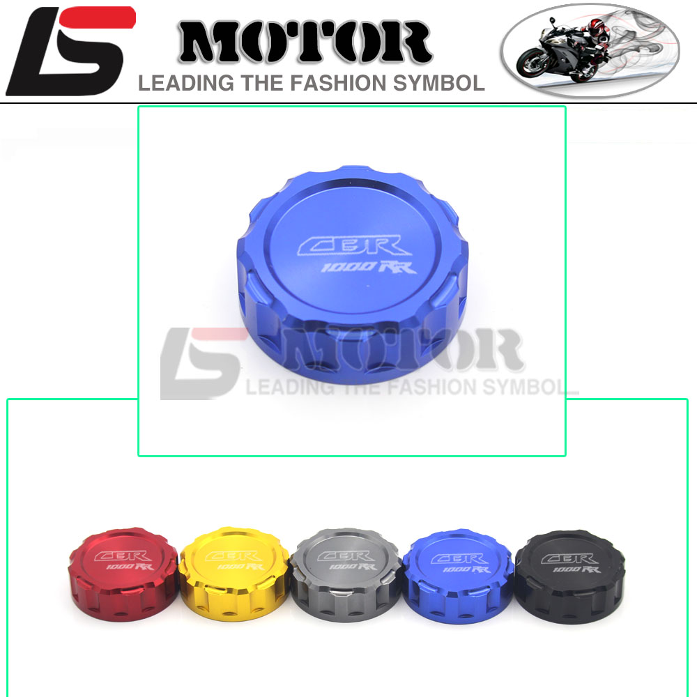 Motorcycle CNC Rear Brake Fluid Reservoir Cover Cap For Honda CBR 1000 RR/CBR 1000 RR C-ABS 2008-UP 2012 2013 2014 2015 2016 arashi motorcycle radiator grille protective cover grill guard protector for 2008 2009 2010 2011 honda cbr1000rr cbr 1000 rr