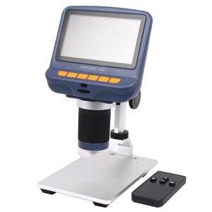 Image 4 - Andonstar USB Microscopio Digitale con schermo per il telefono di riparazione strumento di saldatura bga smt gioielli valutazione uso biologico regalo dei capretti