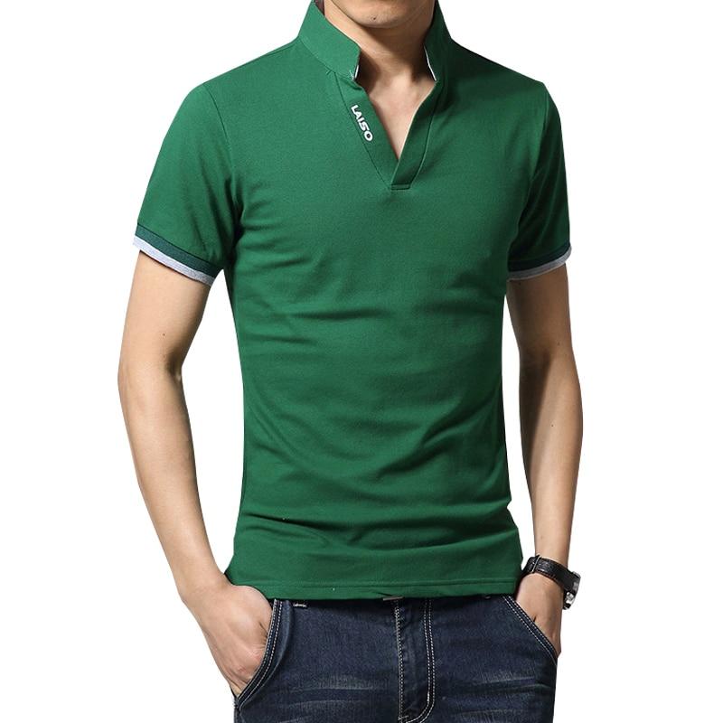 Legible Men's Polo Shirt High Quality Solid Men Cotton Short Sleeve shirt Brands Summer Camisas polo Shirts Men 4XL 5XL Men Men's Clothings Men's Polo Shirts Men's Tops
