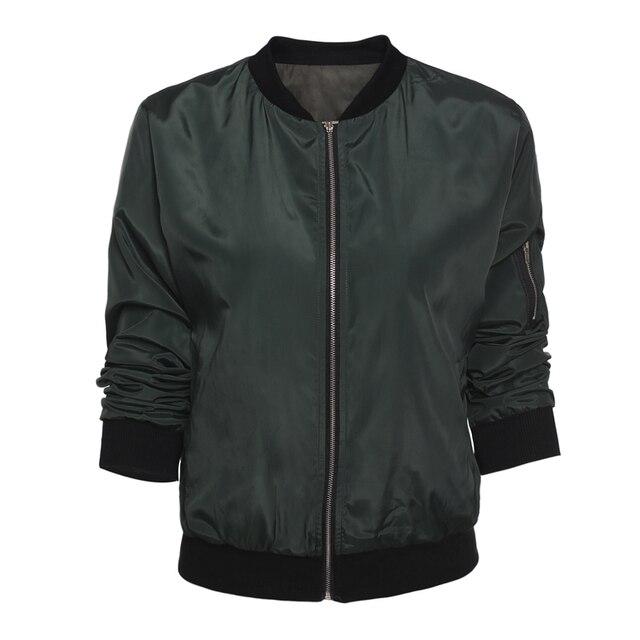 Blouson coupe-vent simple à manches longues pour femme, vestes d'été, léger, à la mode 2020 6