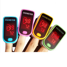 Health Care 1pcs Fingertip Pulse Oximeter SpO2 Blood Oxygen Saturation Monitor With LED Display For Health And Beauty