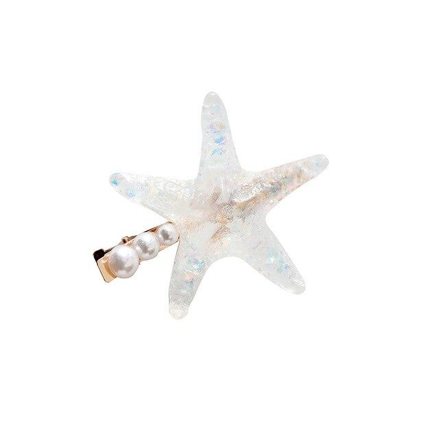 Elegant Starfish Hairpin Mawgie