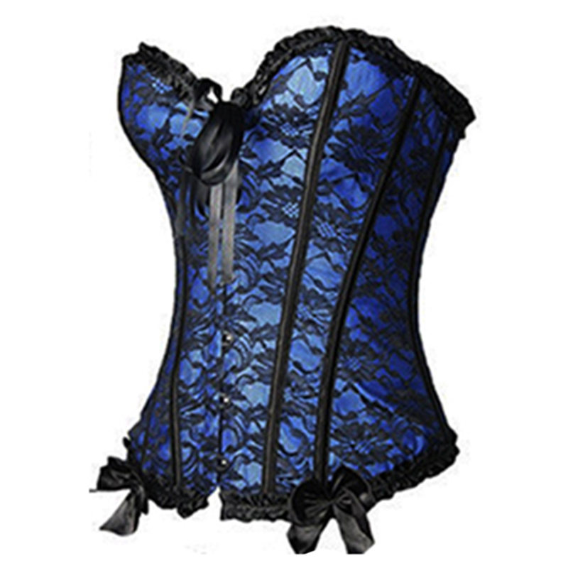 HTB1WHzHKkSWBuNjSszdq6zeSpXat X Sexy Women steampunk clothing gothic Plus Size Corsets Lace Up boned Overbust Bustier Waist Cincher Body shaper corselet S 6XL